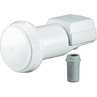 Single LNB Goobay Universel No. of participants: 1 LNB feed size: 40 mm gold-plated terminals