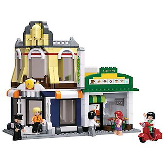 Sluban Town Coffee And Hotel 470 Pieces (Toys , Constructions , Buildings)