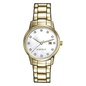 ESPRIT ladies watch bracelet watch Blake stainless steel gold ES100S62010