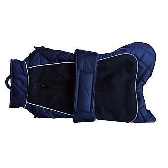 Go Walk Quilted Thermal Coat Navy 24