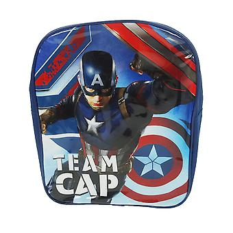 Captain America Team Cap Backpack School Bag Rucksack