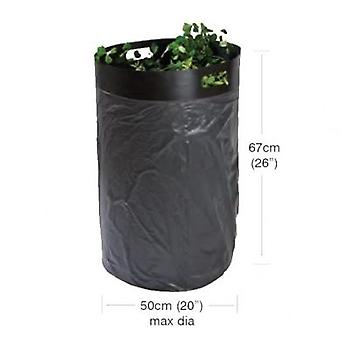 Easy Fill Bag Loader Polypropylene Black Bin