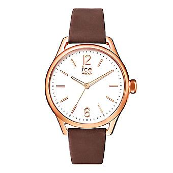 Temps de glace de Ice-Watch Brown Rosegold petit (013067)