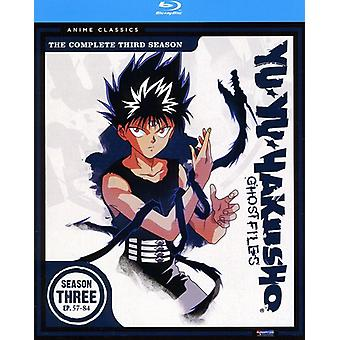 Yu Yu Hakusho: Season 3 (Classic) [BLU-RAY] USA import