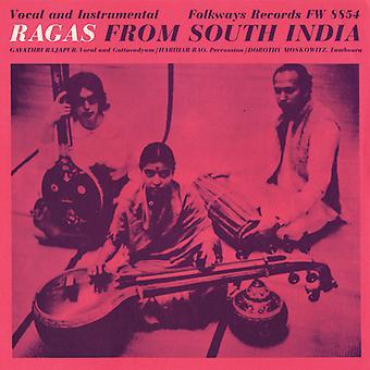 Gervois Rajapur Kassebaum - importation USA Ragas de l'Inde du Sud [CD]