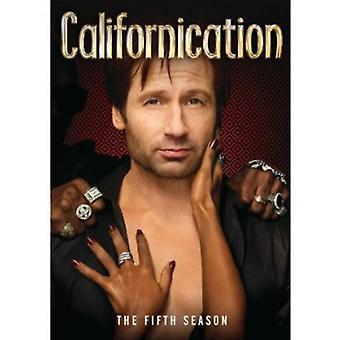 Californication: Sæson 5 [DVD] USA import