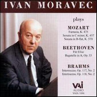 Ivan Moravec - Ivan Moravec spelar Mozart, Beethoven och Brahms [CD] USA import