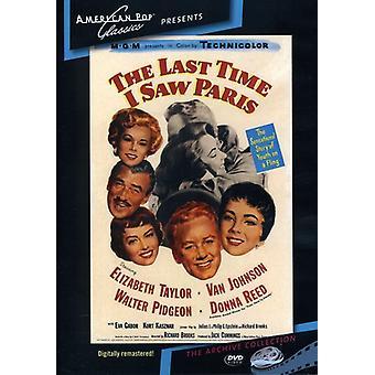 Última vez que vi París (1954) [DVD] USA importar