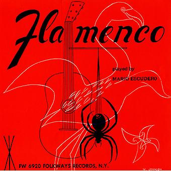 Mario Escudero - Flamenco gitarrsolon [CD] USA import