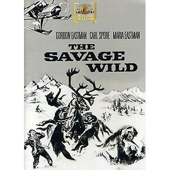 Savage Wild [DVD] USA import