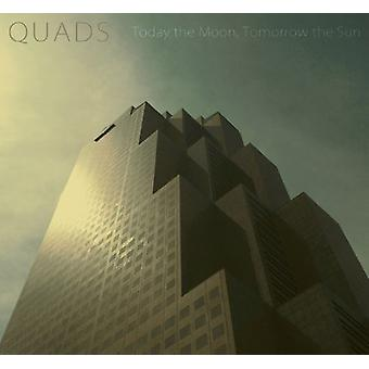 Today the Moon, Tomorrow the Sun - Quads [CD] USA import