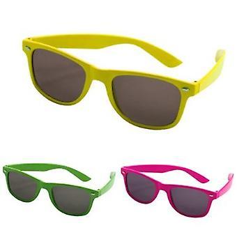 Glasses nerd sunglasses Wayfarer spare glasses neon Horn-rimmed glasses