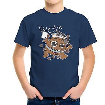 Coffee Oooooh Yeah Kool Aid Mash Up Kid's T-Shirt