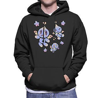 Sonic Chao Garden Cute Chaos Men's Hooded Sweatshirt