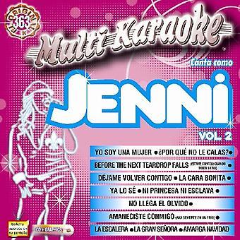 Jenni Rivera - Jenni Rivera: Vol. 2-Exitos-Multi Karaoke [CD] USA import