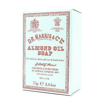 D R Harris Almond Oil Handseife 75g