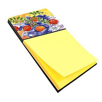 Apples Refiillable Sticky Note Holder or Postit Note Dispenser