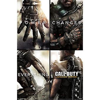 Call of Duty - Advanced Warfare - Power Changes Everything Poster Poster Print