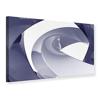 Lærred Print abstrakt vibrationer