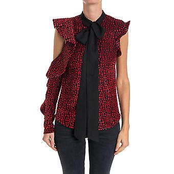Self-portrait ladies SP15033 red polyester top