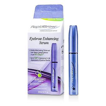 Rapidlash RapidBrow Eyebrow Enhancing Serum (With Hexatein 2 Complex) - 3ml/0.1oz