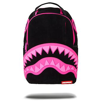 Sprayground Bite Me Backpack - Black / Pink