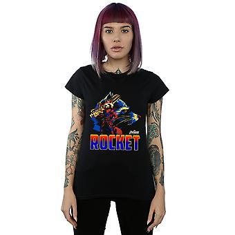 Avengers Women's Infinity War Rocket Character T-Shirt