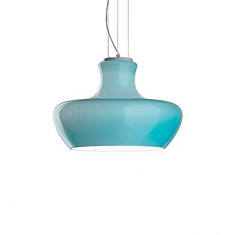 Ideal Lux Aladino 45cm Turquoise Modern Shape Ceiling Pendant Light