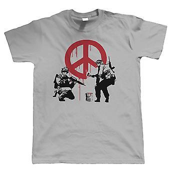 Vrede soldaten, heren T Shirt