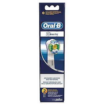 Oral B Replacement White 3-Piece Headstock