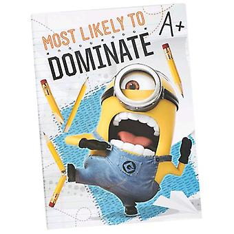 Import Staples Notebook A4 Minions
