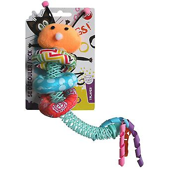 Agrobiothers Catnip Huggy Worm Cat Toy (Cats , Toys , Plush & Feather Toys)