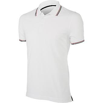 Kariban Mens Constrast Short Sleeve Polo Shirt