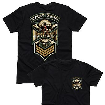 West Coast choppers T-Shirt hipster Hunter Black