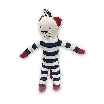 Under the Nile Organic Cotton Scrappy Cat (1 piece/ color may vary)