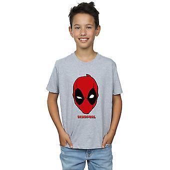 Marvel pojkar Deadpool Mask T-Shirt