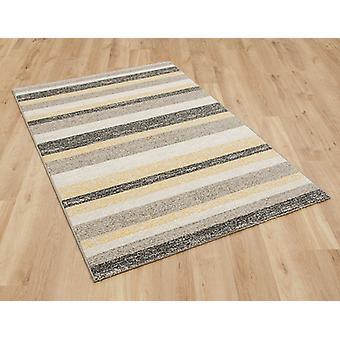 Woodstock 032 0972 6374 gele grijze rechthoek tapijten moderne tapijten