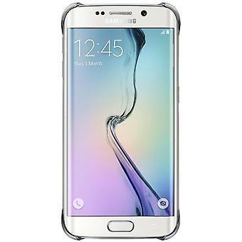 Samsung Blister EF-QG925BSE Hard Cover Hülle für Galaxy S6 Edge G925 Silber