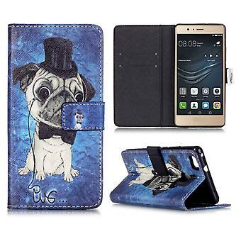 Pocket tegnebog premiummodel 73 for Huawei P9 Lite shell tilfælde dække pose