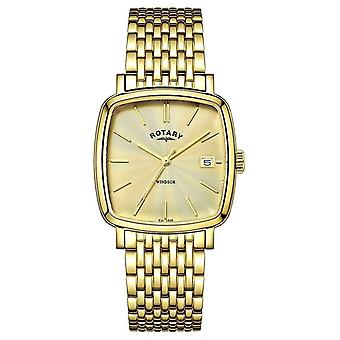 Rotary Mens Windsor Gold PVD Plated GB05308/03 Watch