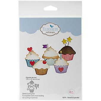Elizabeth Craft Metal Die-Small Cupcake, 1.5