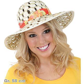 Verano Caribe sombrero de paja sombrero del sombrero de las mujeres