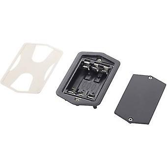 Battery tray 3x AA Solder lug (L x W x H) 105 x 65 x 22 mm Bopla 58317024