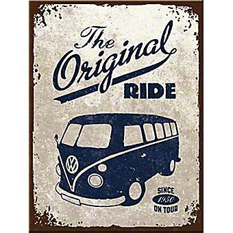Vw Camper Original Ride Fridge Magnet
