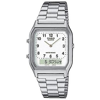 Casio AQ230A-7BMQ Men's Classic Combination Watches with Numeric Digits