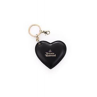Vivienne Westwood Bags Heart And Hook Leather Fastening