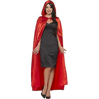 Smiffy's Hooded Cape, Red