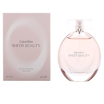 Calvin Klein Sheer Beauty Eau De Toilette Vapo 100ml Womens Fragrance Perfume