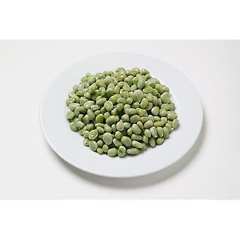 Grünen Bohnen eingefroren