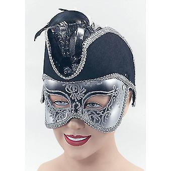 Pirat Maske auf Band.